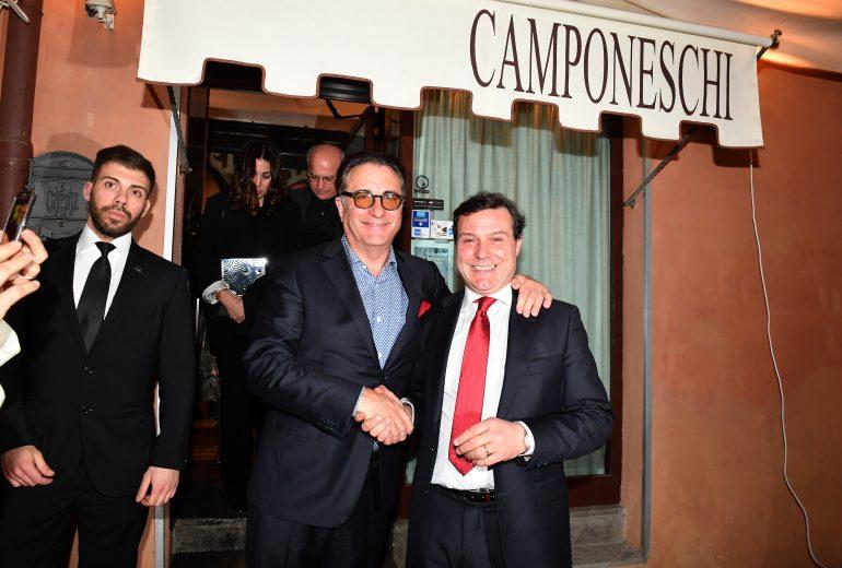 Andy Garcia e Alessandro Camponschi
