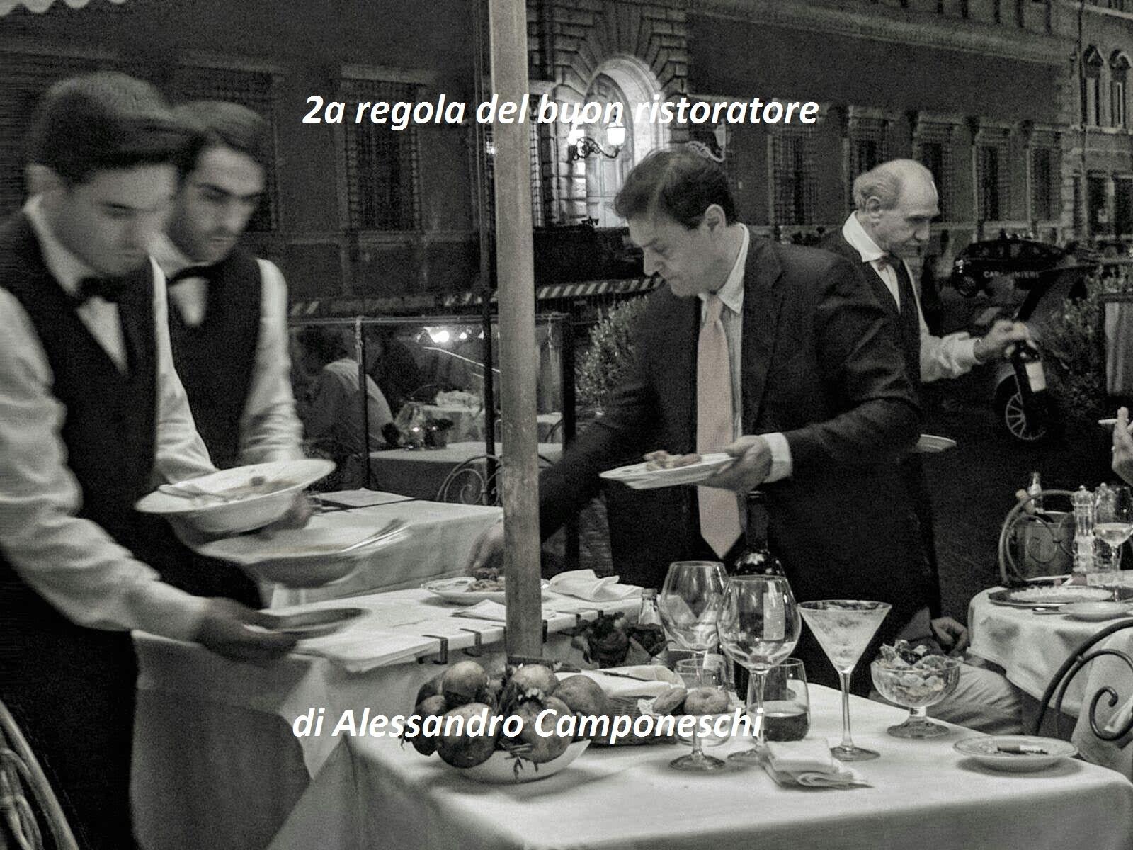 2a regola del buon ristoratore